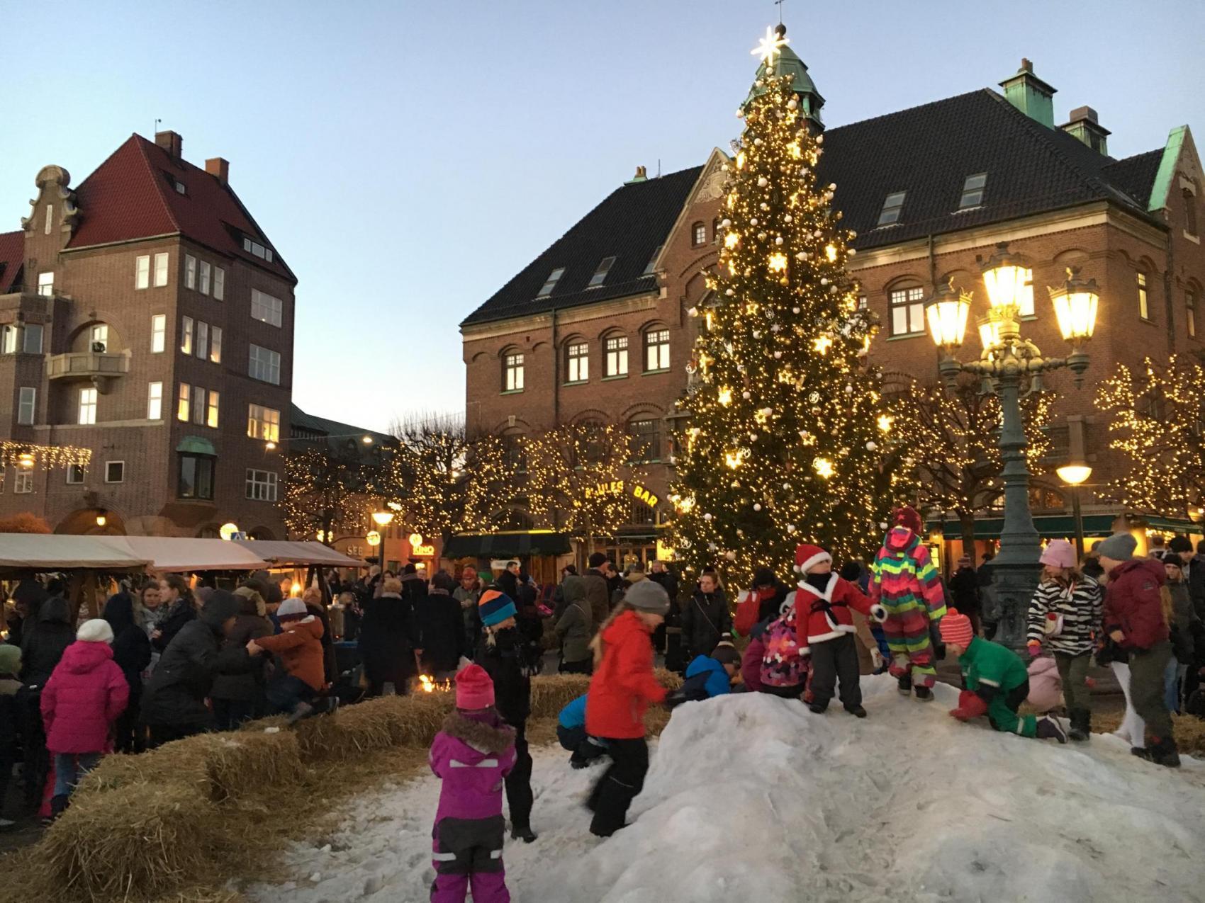 ルンドのクリスマス風景